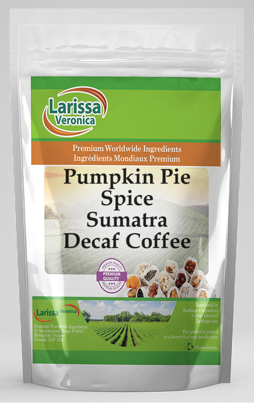 Pumpkin Pie Spice Sumatra Decaf Coffee