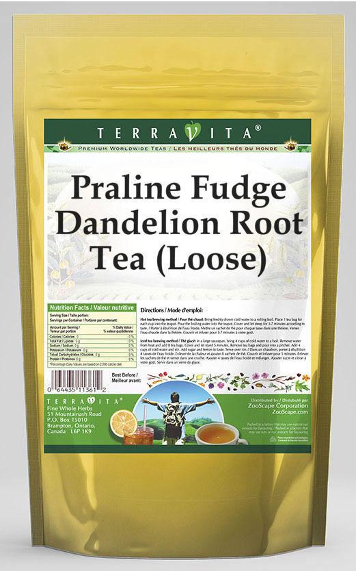Praline Fudge Dandelion Root Tea (Loose)