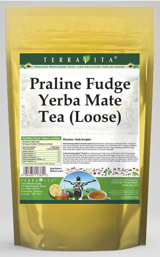Praline Fudge Yerba Mate Tea (Loose)