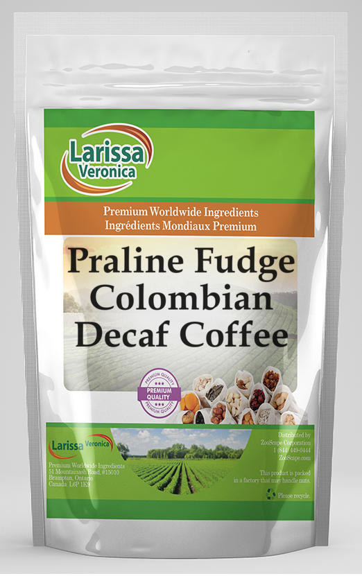 Praline Fudge Colombian Decaf Coffee