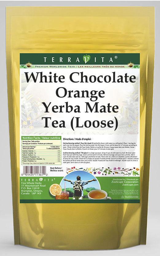 White Chocolate Orange Yerba Mate Tea (Loose)
