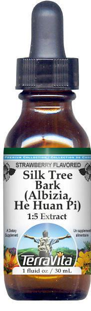 Silk Tree Bark (Albizia, He Huan Pi) Glycerite Liquid Extract (1:5)