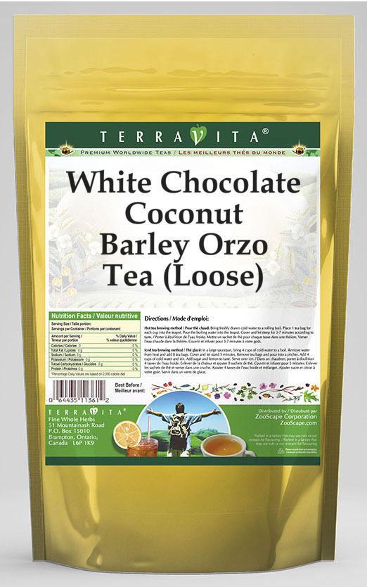 White Chocolate Coconut Barley Orzo Tea (Loose)