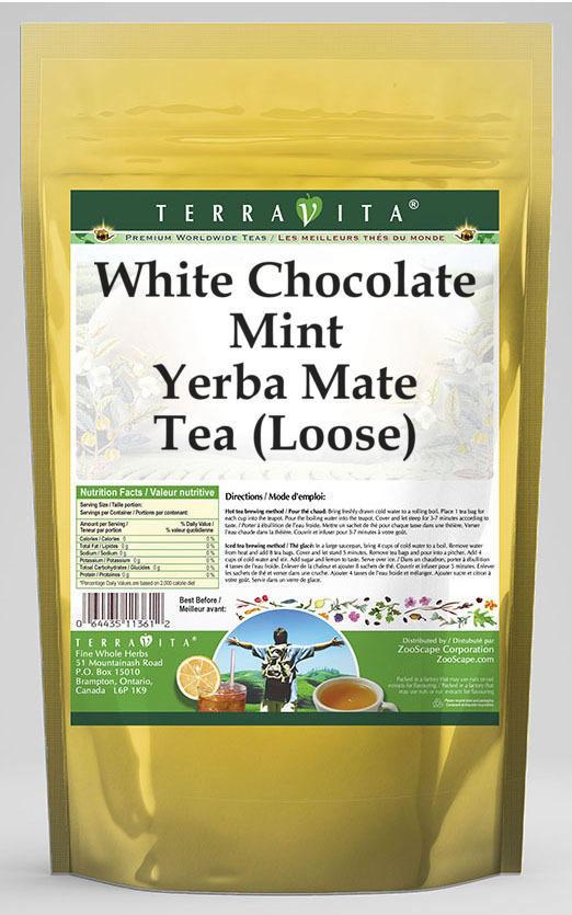 White Chocolate Mint Yerba Mate Tea (Loose)