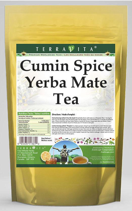 Cumin Spice Yerba Mate Tea