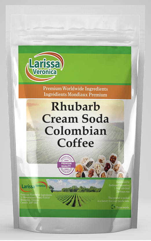 Rhubarb Cream Soda Colombian Coffee