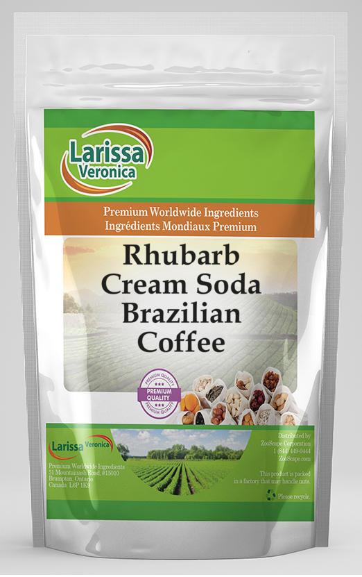 Rhubarb Cream Soda Brazilian Coffee