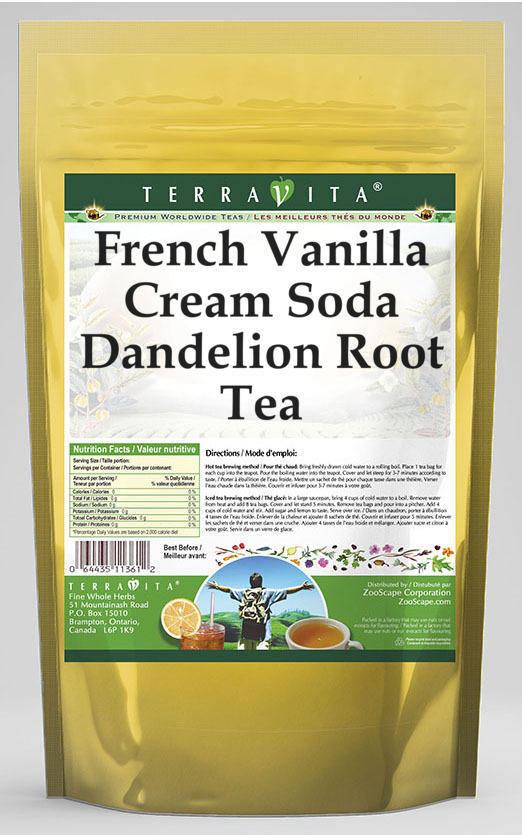 French Vanilla Cream Soda Dandelion Root Tea
