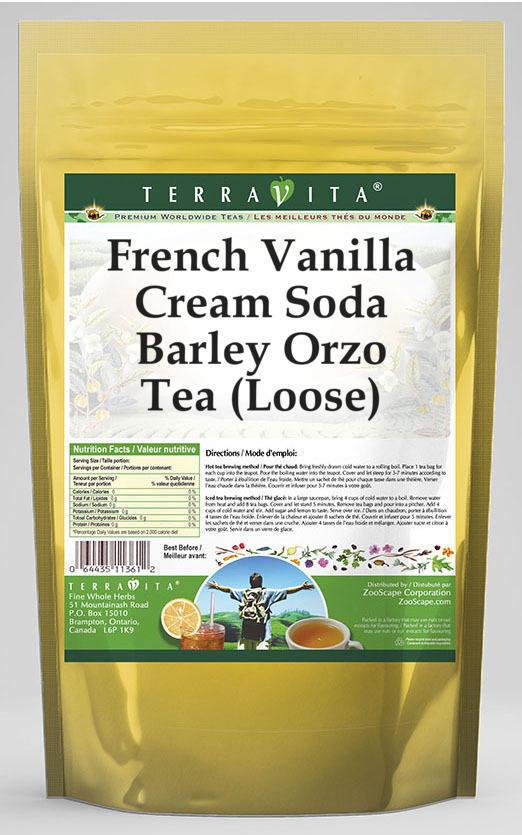 French Vanilla Cream Soda Barley Orzo Tea (Loose)