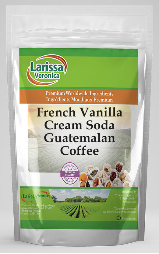 French Vanilla Cream Soda Guatemalan Coffee