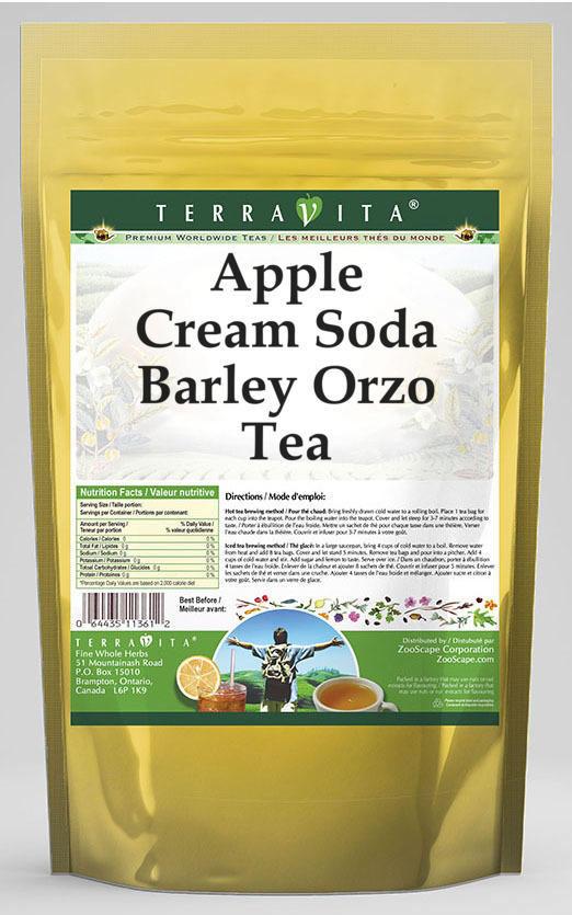 Apple Cream Soda Barley Orzo Tea