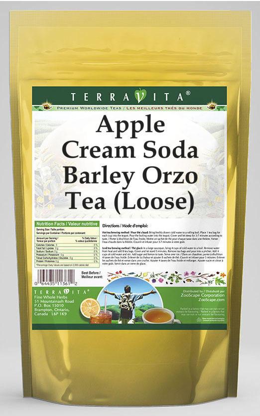 Apple Cream Soda Barley Orzo Tea (Loose)
