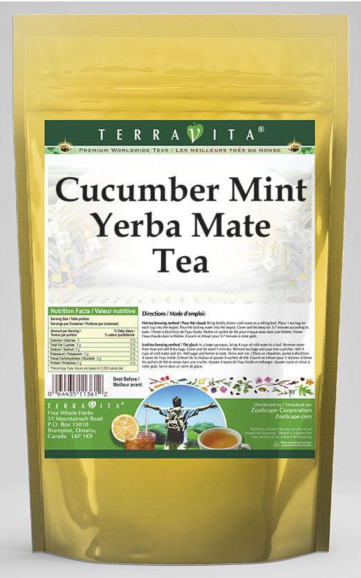 Cucumber Mint Yerba Mate Tea