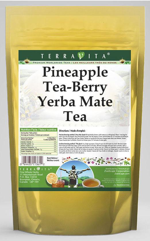 Pineapple Tea-Berry Yerba Mate Tea