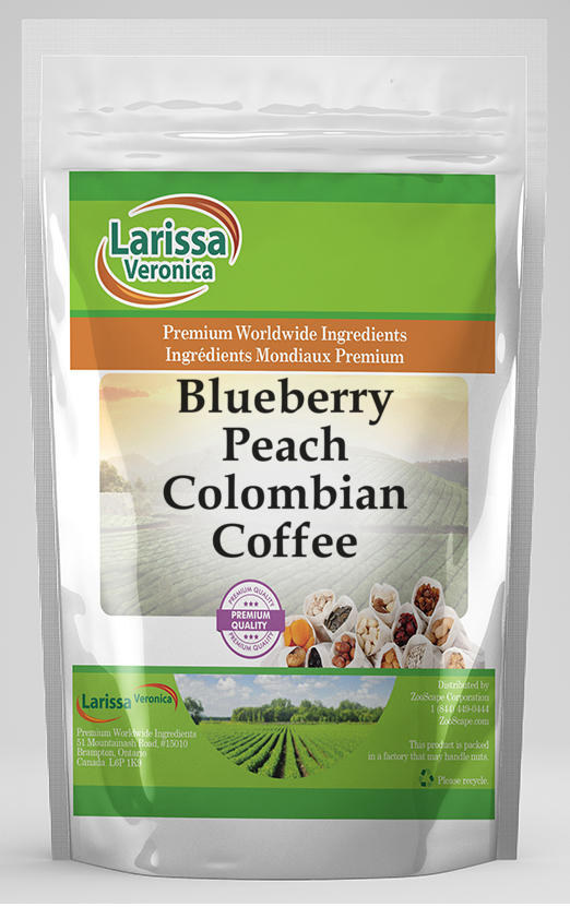 Blueberry Peach Colombian Coffee