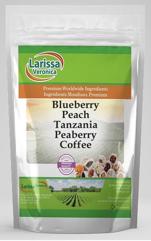Blueberry Peach Tanzania Peaberry Coffee