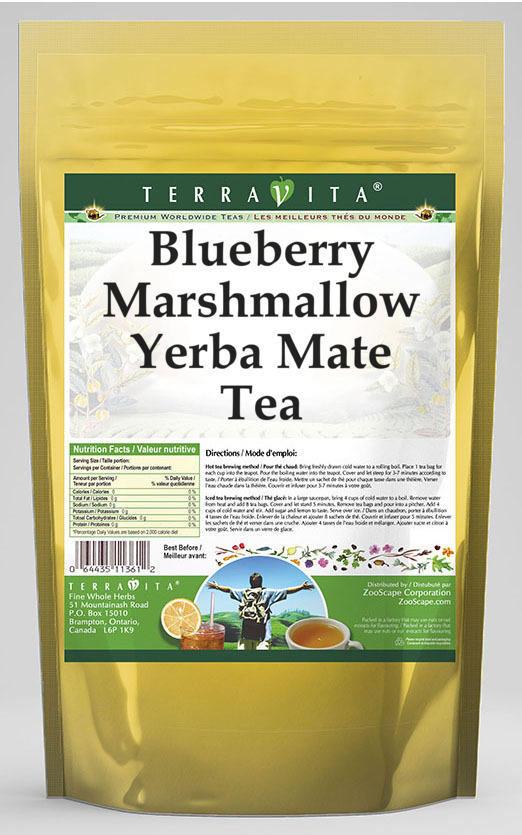 Blueberry Marshmallow Yerba Mate Tea