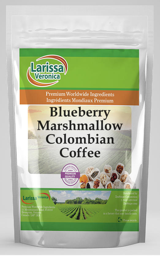 Blueberry Marshmallow Colombian Coffee