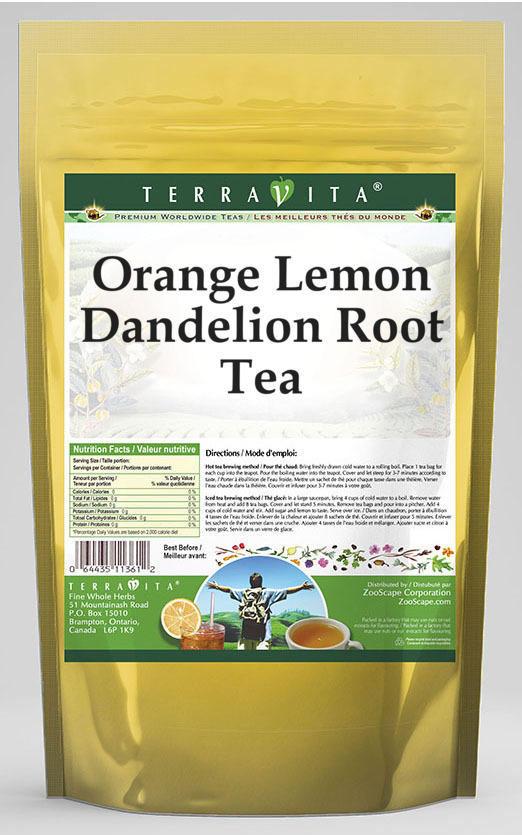 Orange Lemon Dandelion Root Tea