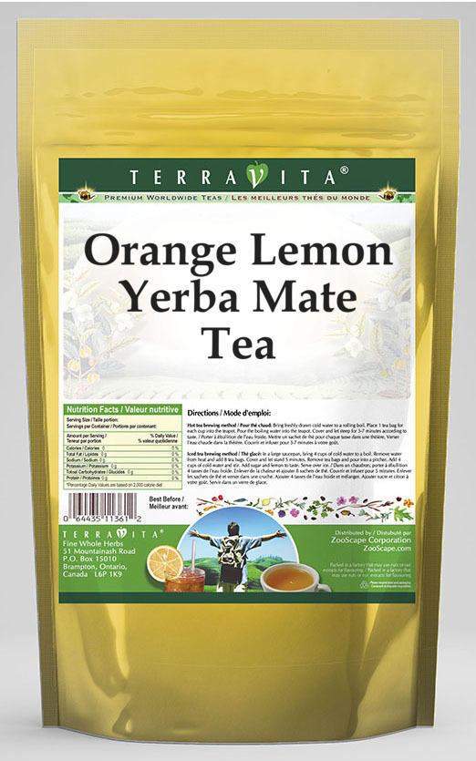 Orange Lemon Yerba Mate Tea