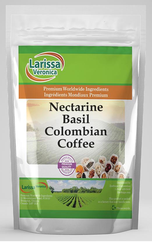 Nectarine Basil Colombian Coffee