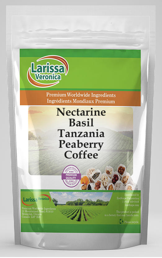 Nectarine Basil Tanzania Peaberry Coffee
