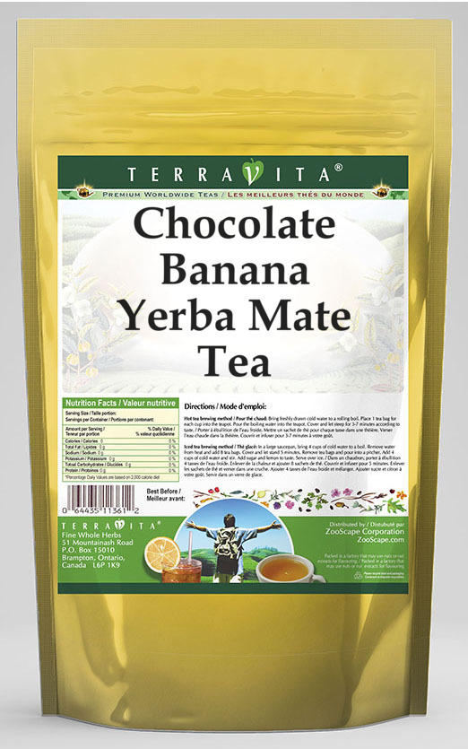 Chocolate Banana Yerba Mate Tea