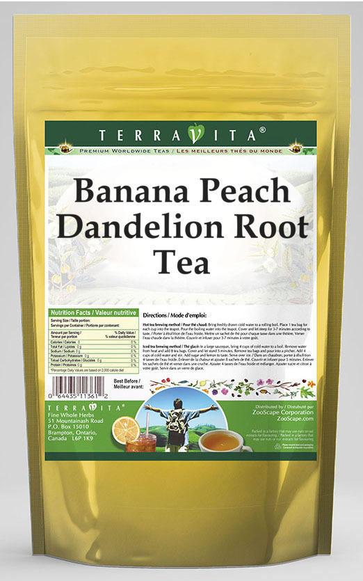Banana Peach Dandelion Root Tea