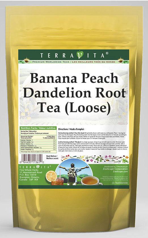 Banana Peach Dandelion Root Tea (Loose)