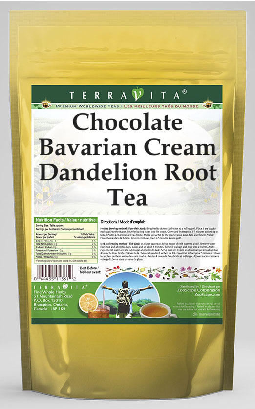 Chocolate Bavarian Cream Dandelion Root Tea