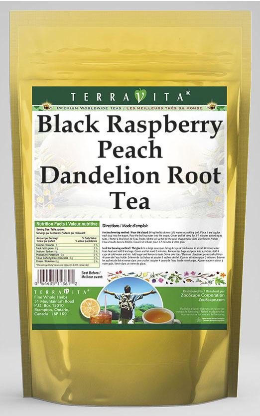 Black Raspberry Peach Dandelion Root Tea