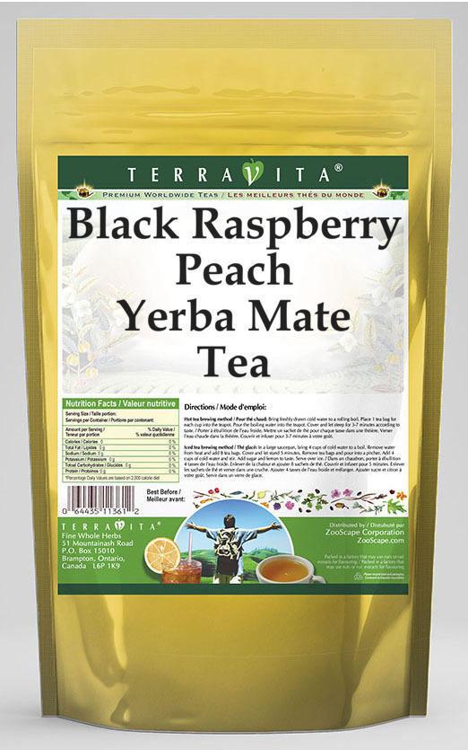 Black Raspberry Peach Yerba Mate Tea