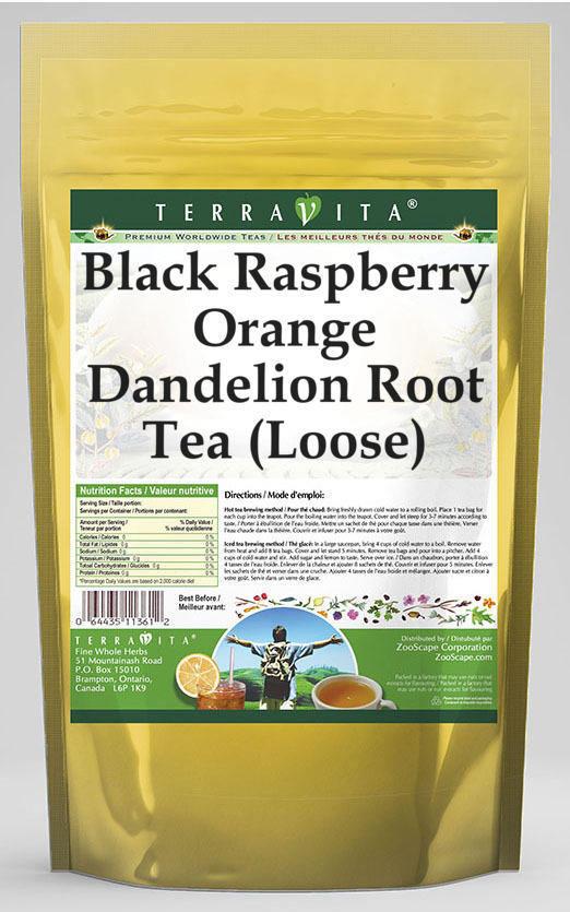Black Raspberry Orange Dandelion Root Tea (Loose)
