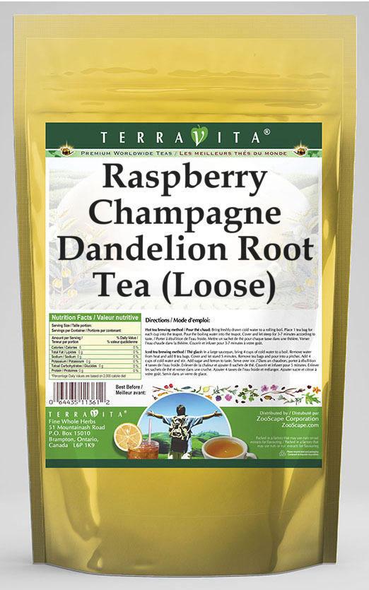 Raspberry Champagne Dandelion Root Tea (Loose)