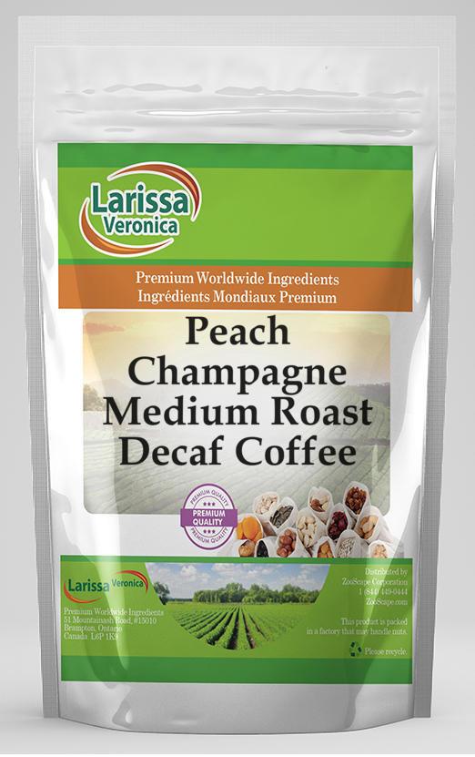 Peach Champagne Medium Roast Decaf Coffee