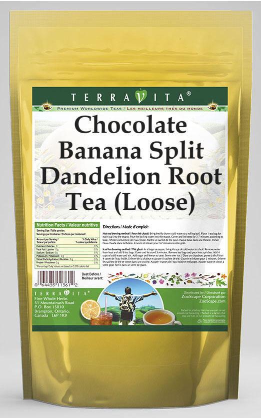 Chocolate Banana Split Dandelion Root Tea (Loose)