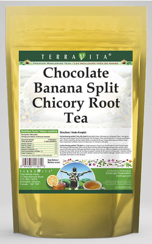 Chocolate Banana Split Chicory Root Tea