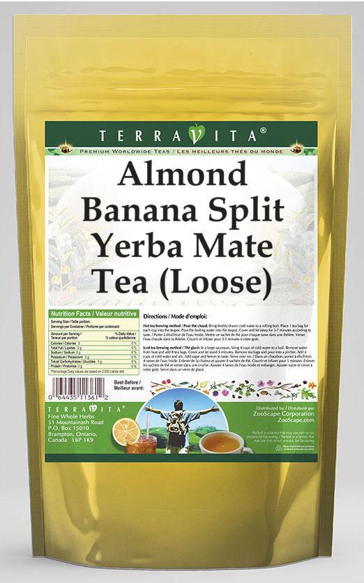 Almond Banana Split Yerba Mate Tea (Loose)