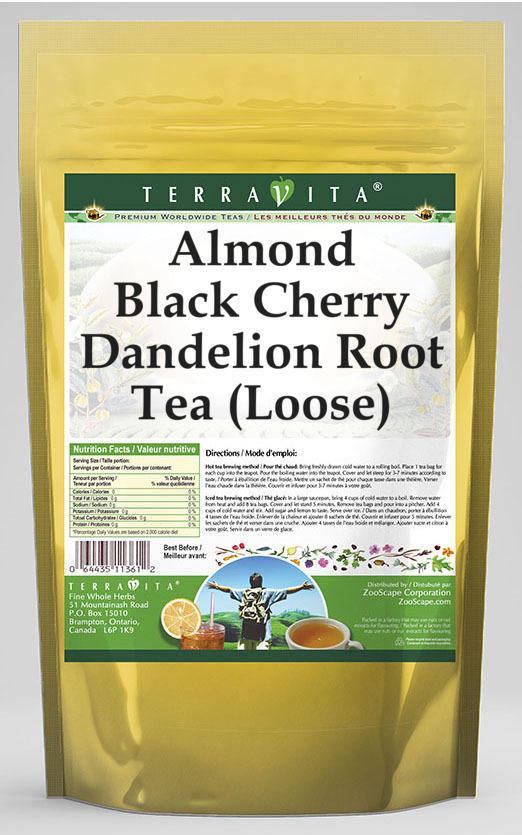 Almond Black Cherry Dandelion Root Tea (Loose)