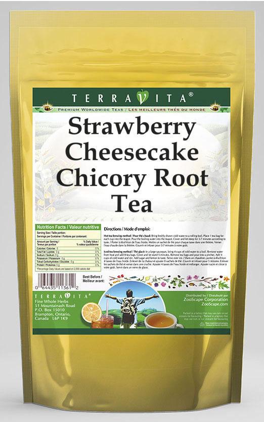 Strawberry Cheesecake Chicory Root Tea