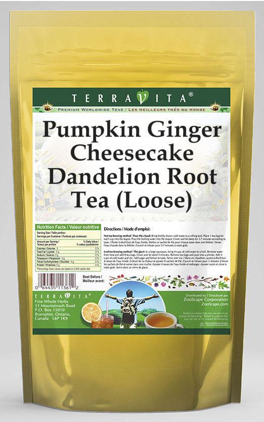 Pumpkin Ginger Cheesecake Dandelion Root Tea (Loose)