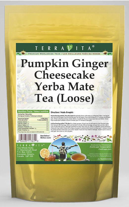 Pumpkin Ginger Cheesecake Yerba Mate Tea (Loose)