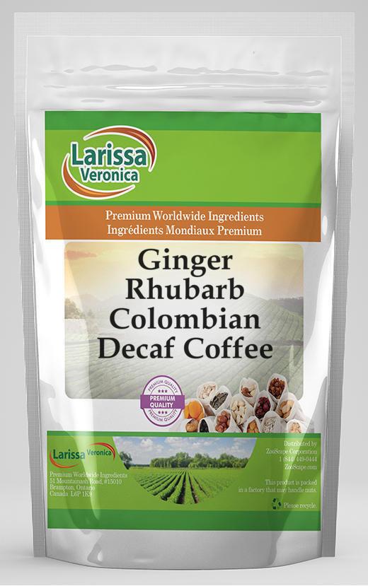 Ginger Rhubarb Colombian Decaf Coffee