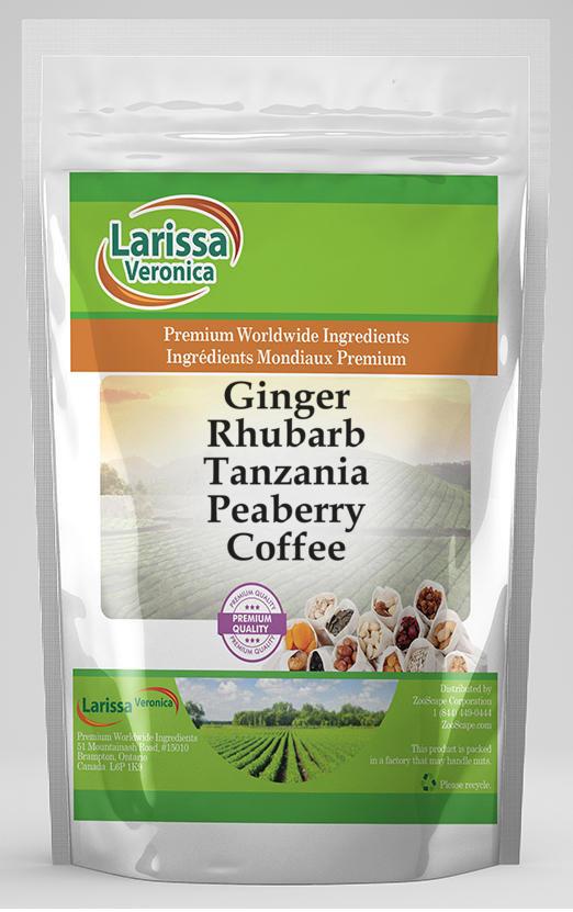 Ginger Rhubarb Tanzania Peaberry Coffee