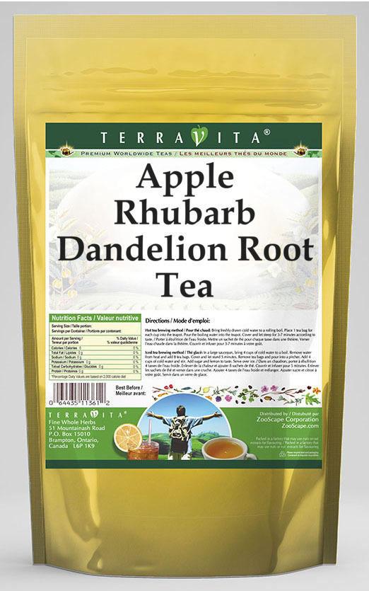 Apple Rhubarb Dandelion Root Tea