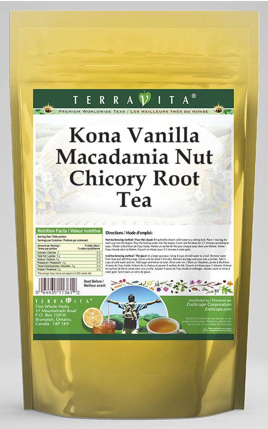 Kona Vanilla Macadamia Nut Chicory Root Tea
