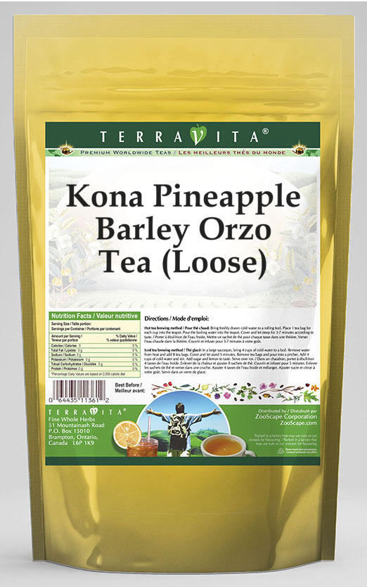 Kona Pineapple Barley Orzo Tea (Loose)