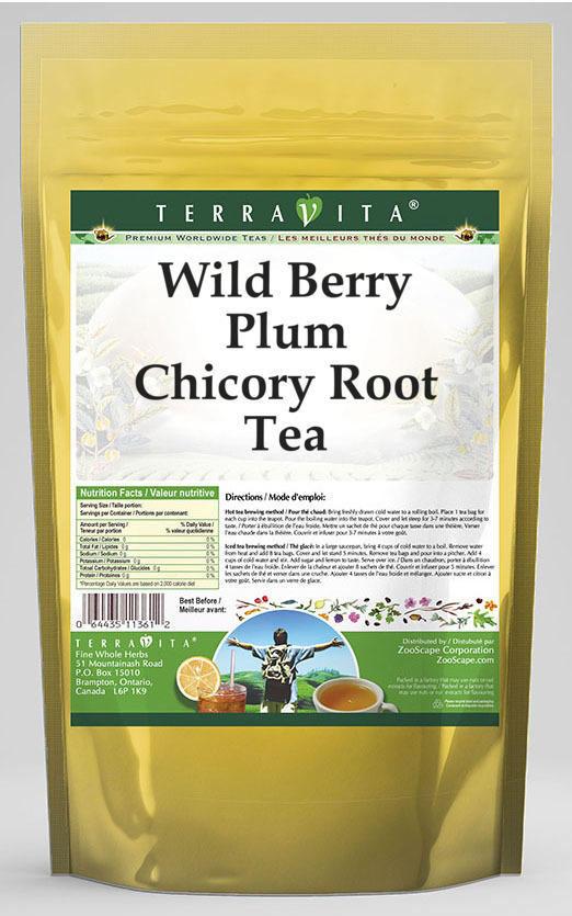 Wild Berry Plum Chicory Root Tea