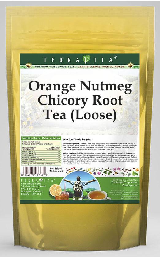Orange Nutmeg Chicory Root Tea (Loose)