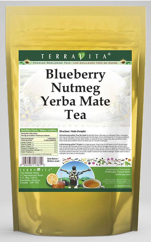 Blueberry Nutmeg Yerba Mate Tea